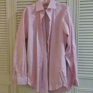 Thomas Pink Men's Classic French Cuff Dress Shirt